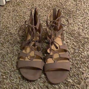 Lauren Conrad Strap Sandals. Size 9.